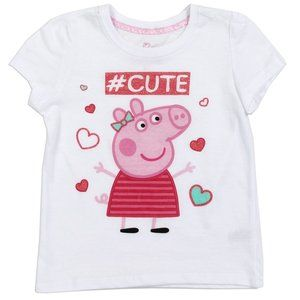 🎁🌴PEPPA PIG Girls Toddler T-Shirt